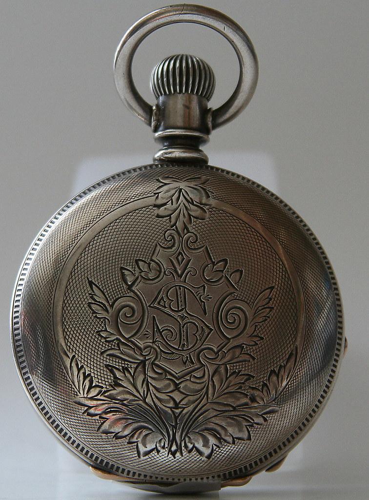 Coin Silver Keystone Case circa 1880s