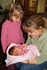 Anne-Sophie, Myriam et Isabelle