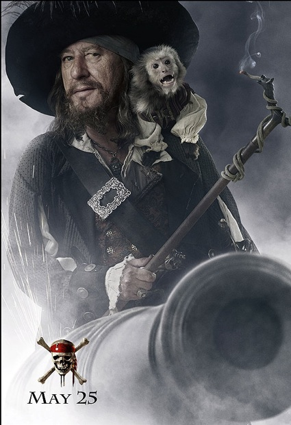 pirates of the carribean at worlds end captain barbosa poster