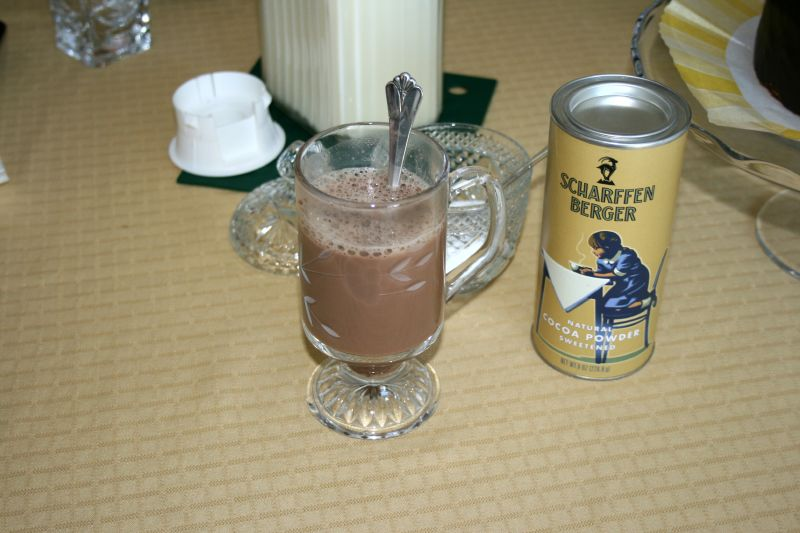 Chocolate Soy Milk