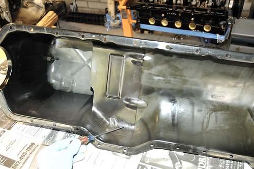 oil pan pump clearance 1