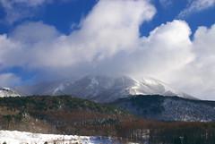 磐梯山を眺めて
