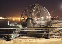ascensor panormico de San Pedro (briveira) Tags: parque spain san corua pedro galicia ascensor panoramico panormico briveiracom