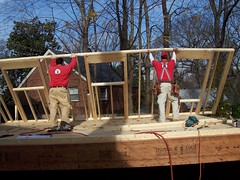 house being built