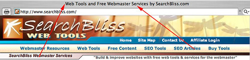 SearchBliss Title Tag