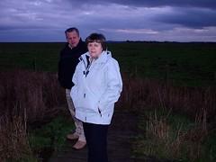 Uncle Robert & my Mum