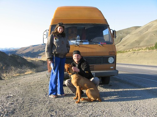 Michael is living the dream of driving from Germany to India (15km from Erzincan, Turkey) / マイケルさんの夢 - ドイツからインドまで