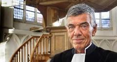 ds Klaas Hendrikse, atheïstische dominee (Foto Cor de Kock / AD)