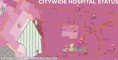 citywide hospital status