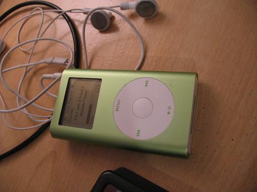 New old iPod Mini