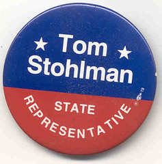1992 TJS Campaign Button