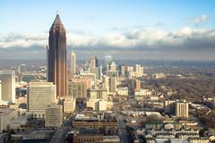 Midtown Atlanta from the Marriott Marquis 46th floor