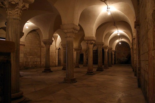Crypt under the cathedral, Trani