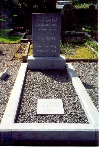 William Butler Yeats's Grave. Photo by Isalella