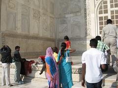 Taj Mahal - the entrance