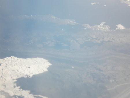 Mar congelado desde el aire... 3