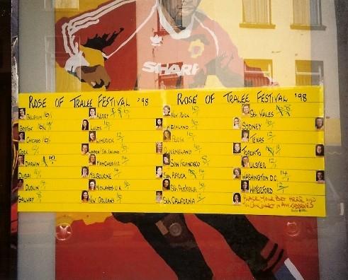 Odds at Rose of Tralee Festival