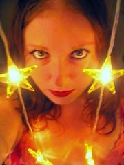 Day 42: Star light, Star Bright (jeneyepher) Tags: woman selfportrait sexy ikea me female self myself stars lights star eyes feminine moi wishes utata sultry 365 wish day42 starlight starbright 365days i