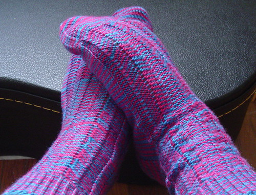 Crazy Stripes socks