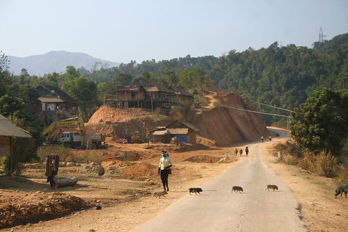 On the way from Son La to Dien Bien Phu...