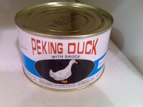 Peking Duck in a can