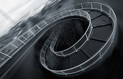 In A Roundabout Way (duncmc) Tags: bridge spiral footbridge hull footpath railings artitecture clivesullivanway impressedbeauty daltrystreet