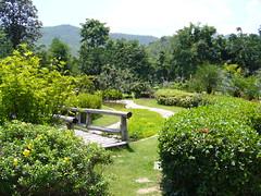 สวนสวยๆในรีสอร์ท