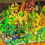 Tarsila do Amaral homenageada no Carnaval Rio de Janeiro Carnival Abaporu  Mangueira 2007 Carioca Brazil Brasil samba Estação Primeira de Mangueira