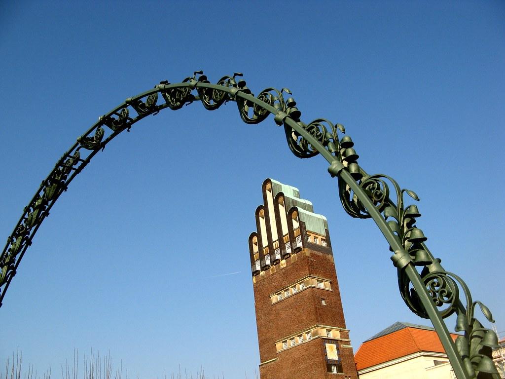 Art Nouveau / Jugendstil in Darmstadt  - Wedding-Tower / Hochzeitsturm