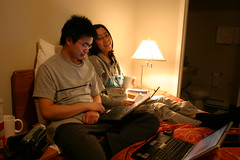 Dickson & Sharon (mastermaq) Tags: vancouver events conferences northernvoice mastermaq dicksonwong nv2007 nv07 sharonyeo