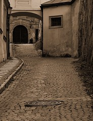 Prague 1 (George*50) Tags: travel sepia europe prague cities praha monotone czechrepublic bohemia cechy canons1is cesko superhearts