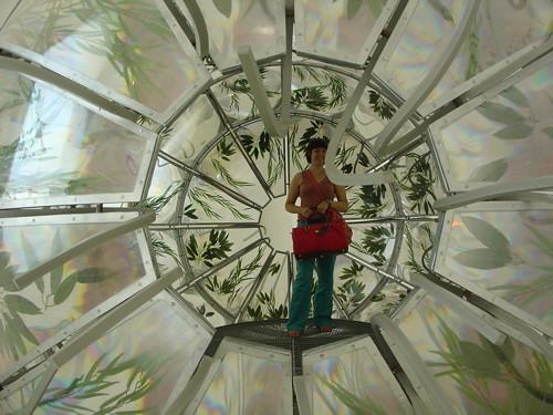 Leafy spaceship