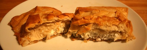 Cod and Cream Cheese Parcels