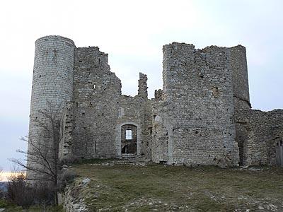 ruines Bargème 4