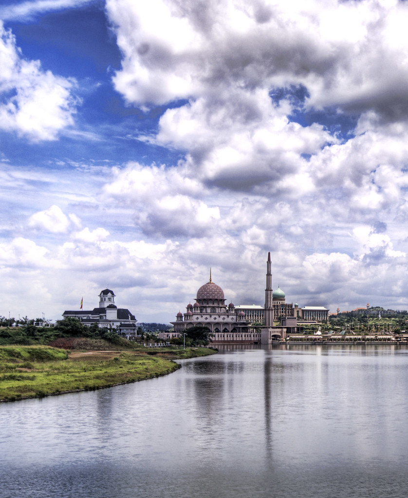 The Mosque and Silo of Putrajaya