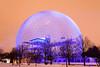 Montreal Biosphere (Maxim B.) Tags: montreal canada quebec biosphere parcjeandrapeau parc sphere ilesthelene stehelene saintehelene evening night memorytrigger