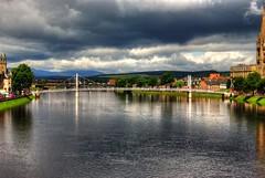 River Ness (diminji (Chris)) Tags: ness riverness scotland lovescotland water bridges hdr hdrtoning rivers highlands inverness