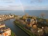 Medemblik-kasteel Radboud (2) (de kist) Tags: kap thenetherlands westfriesland medemblik kasteelradboud florisv dwangburcht kasteel ijsselmeer medemblikcastle radboudcastle grotepier luchtfotografie aerialphotography