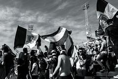 EM10-102016_Aniversario30GB-004 (Pablo Dalien) Tags: football futbol barrabrava hooligans colocolo chile estadio stadium people celebration flags fans fanatismo fanatic happy blackandwhite streetphotography santiago life style