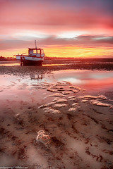 Meols Beach Sunset (12 of 14) (andyyoung37) Tags: boat meolsbeech merseyestuary beach greatsky sunset thewirral