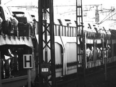 Zug mit Autos - by jbvkoos
