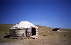 Isolated Yurt (Mondmann) Tags: china landscape asia yurt isolation desolate barren grasslands desolation middleofnowhere ger dwelling mongolian innermongolia innermongoliaautonomousregion
