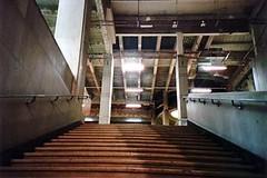 up, up (greenchartreuse) Tags: paris france film stairs analog lomo lca lomography europe palaisdetokyo