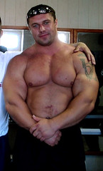Michael Sidorychev (101) (Pete90291) Tags: pecs muscular chest tattoos strong muscleman biceps abs strongman strongmen worldsstrongestman hugethighs hugelegs michaelsidorychev tattooedmuscle mikhailsidorychev