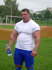 Michael Sidorychev (110) (Pete90291) Tags: pecs muscular chest tattoos strong muscleman biceps abs strongman strongmen worldsstrongestman hugethighs hugelegs michaelsidorychev tattooedmuscle mikhailsidorychev