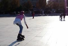 Iranian skater babe