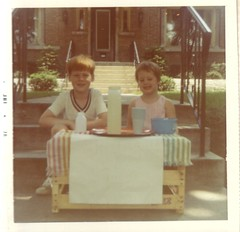 1970-76 (jacdupree) Tags: family illinois 1970 oakpark lemonadestand