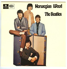 Norwegian Wood EP (Marxchivist) Tags: vinyl 45 record beatles 45s ep norwegianwood daytripper paperbackwriter wecanworkitout