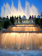 Barcelona - Fuentes de Montjuic / Fountains of Montjuic (basajauntxo) Tags: barcelona spain fuente catalunya naranja soe montjuic fontene cascada picturecollection flickrsbest anawesomeshot aplusphoto fuentedecolores firsttheearth diamondclassphotographer flickrdiamond platinumheartaward a3b retoexpress