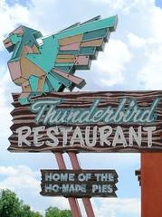 Thunderbird Restaurant - by Michael R. Swigart